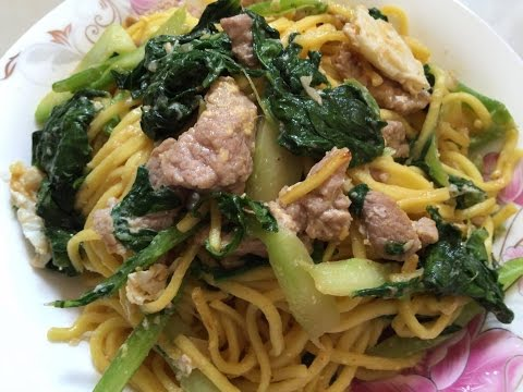 Cooking recipes – Easy food to make at home – Asian Food – Stir fry noddles -Food #35