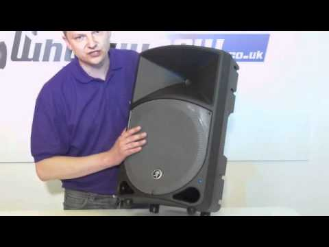 mackie thump th 12a active pa speaker demo youtube. Black Bedroom Furniture Sets. Home Design Ideas