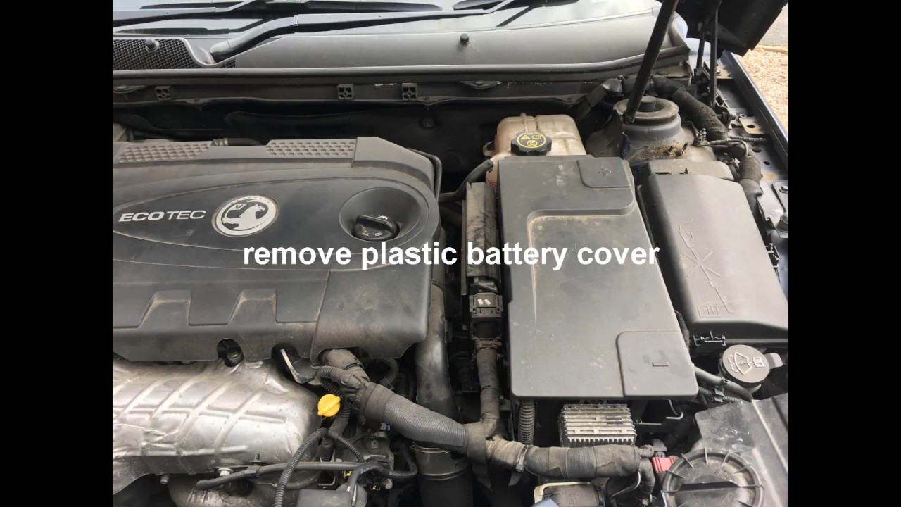 Insignia F40 gearbox oil change