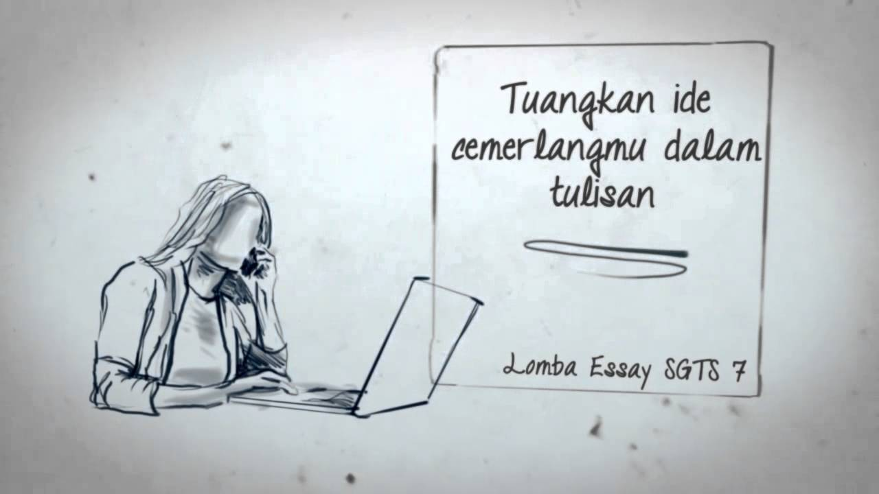 Essay Competition Lomba Essay Sgts 7 2013 Youtube