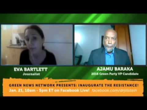 Syria: Eva Bartlett interviewed by Ajamu Baraka