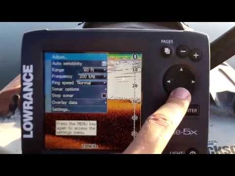 Lowrance Elite 5x color fish finder review from fishfindermounts.com