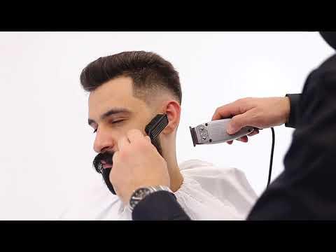 Оформление бороды -