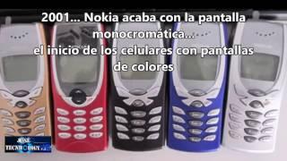 La evolucion de los telefonos movil en 30 años