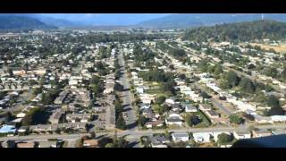 Heli flight Fraser Valley- Chilliwack BC Canada