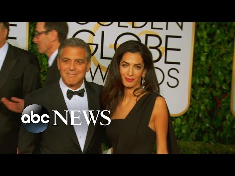George Clooney, Amal Alamuddin Shine at 2015 Golden Globes