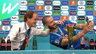 Roberto Mancini & Leonardo Bonucci | England 1-1 Italy (2-3 pens) | Final
