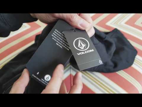 Unboxing New VOLCOM Stone Made Black Zip Up Hoodie! 11 29 2017