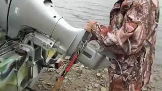 Самодельный упор для лодочного мотора(, 2014-07-05T10:51:24.000Z)
