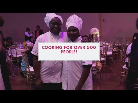 Wedding Buffet For Over 500 People!!! | Shaloom Catering | Big Congolese Wedding