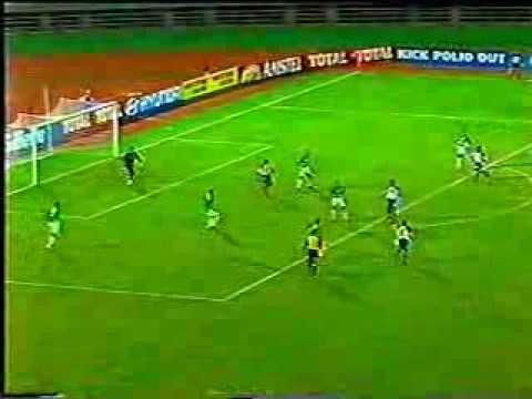 Liberia - Algeria (goal by Kelvin Sebwe - ANC 2002)