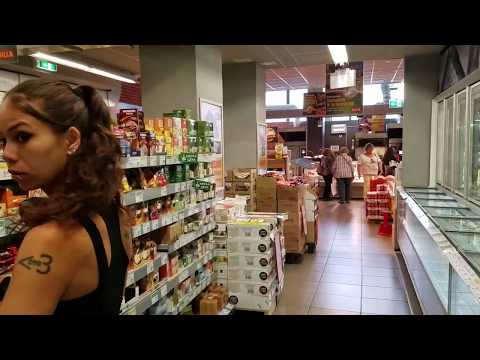 Billa Supermarket - Cheap Bulgarian Food - VIDEO TOUR (Sofia, Bulgaria)