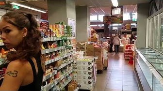 Billa Supermarket - Cheap Bulgarian Food - VIDEO TOUR (Sofia, Bulgaria)
