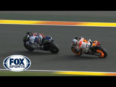 MotoGP: Pedrosa Battles Lorenzo - Valencia GP 2013