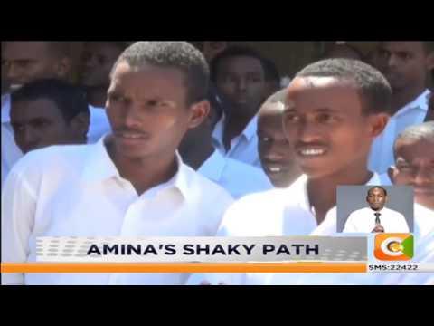 Amina's dwindling career