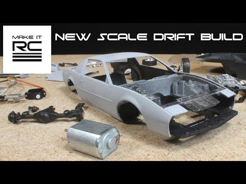 New Mini RC Drift Build, Converting a Model Car to RC: Part 1 Overview, Teardown, and Test Fit Axle