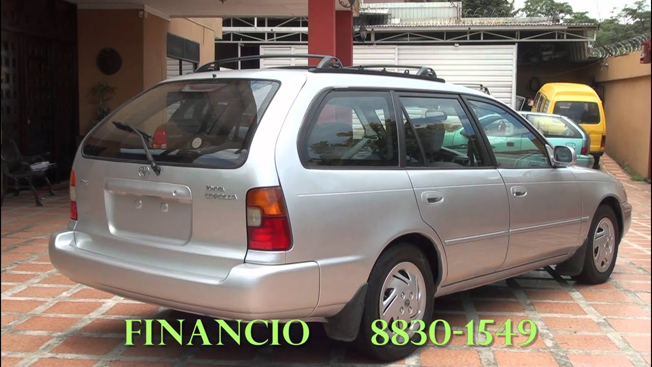 Wonderful Toyota Corolla Station Wagon,1994, Automatico,Full Extras.   YouTube