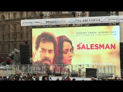 London open-air screening backs Oscar boycott director Farhadi