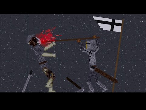 Medieval War With Zombie In People Playground
