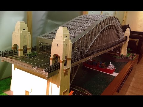Miniature Model Sydney Harbour Bridge Youtube