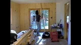 Diy 32 - Installing Wood Planks In Den
