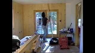 Diy 32 - Installing Wood Planks In Den