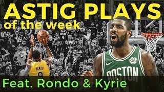 NBA ASTIG Plays: featuring Rajon Rondo & Kyrie Irving