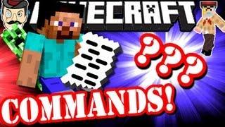 Minecraft SECRET COMMANDS Revealed !