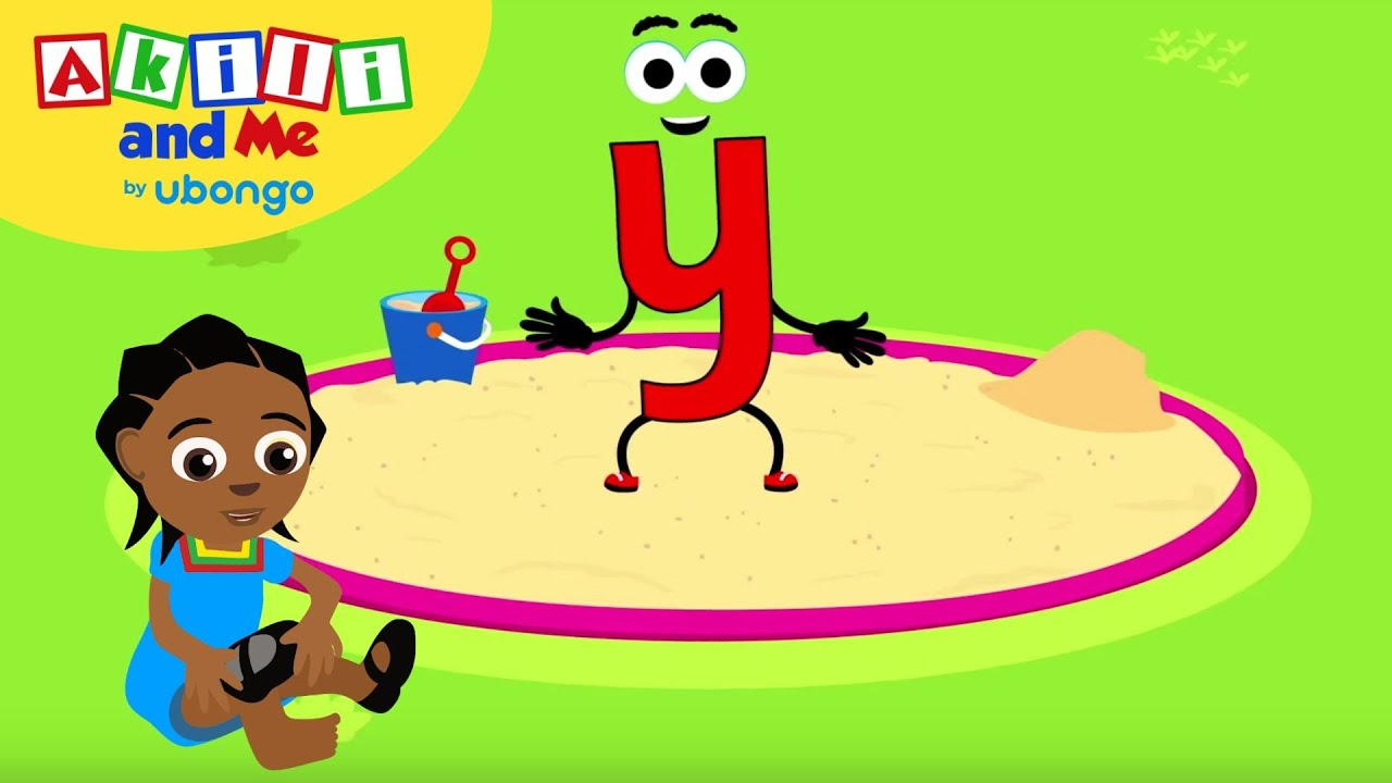 Learn Letter Y!   The Alphabet with Akili   Cartoons for Preschoolers