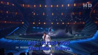 The Best of Eurovision 2001-2010 (My Top 50) - Part II