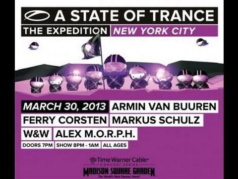 Ferry Corsten & Markus Schulz - Live A State of Trance 600 New York - 30.03.2013