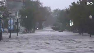 הוריקן פלורנס פגע בארה
