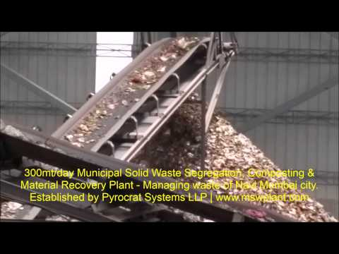 Municipal Solid Waste Management Machinery - Pyrocrat Systems LLP - Suhas Dixit