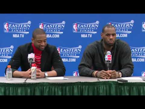 LeBron James on Lance Stephenson s Antics   Heat vs Pacers   Game 5   NBA Playoffs 2014