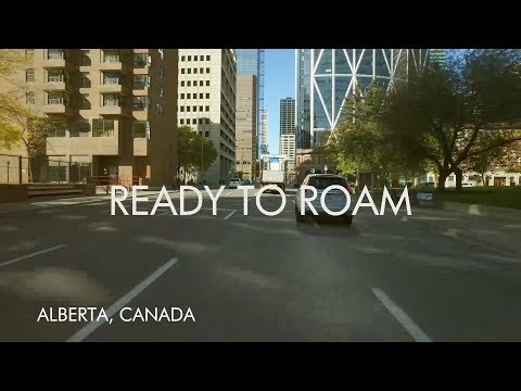 Ready to Roam - Calgary to Lake Louise Slow TV | Alberta, Canada