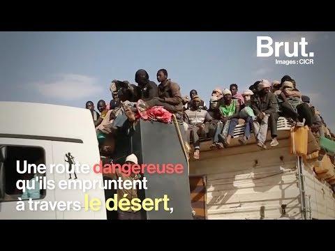 Sur la route dangereuse du Niger avec les migrants