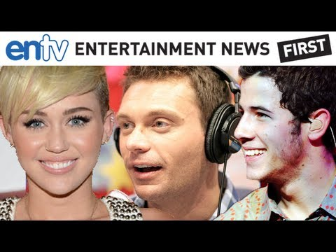 Miley Cyrus Calls Ryan Seacrest and Reacts to Ex Nick Jonas' Song: ENTV
