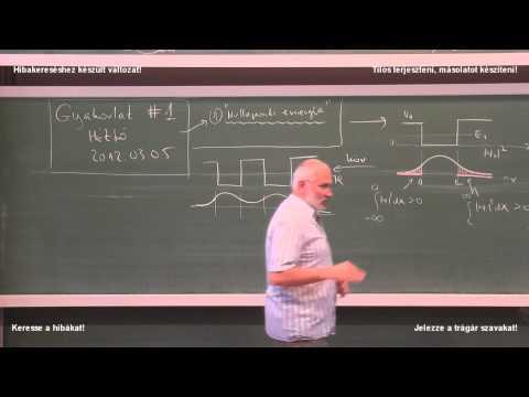 Kvantummechanika 8. (ea) - 2012.02.28. (KERESD A HIBÁT!)