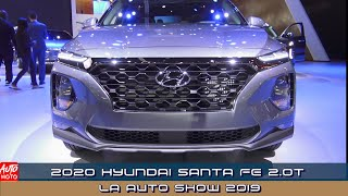 2020 Hyundai Santa Fe 2.0T - Exterior And Interior - LA Auto Show 2019