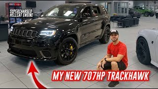 My New 707HP Daily Driver! JEEP TRACKHAWK
