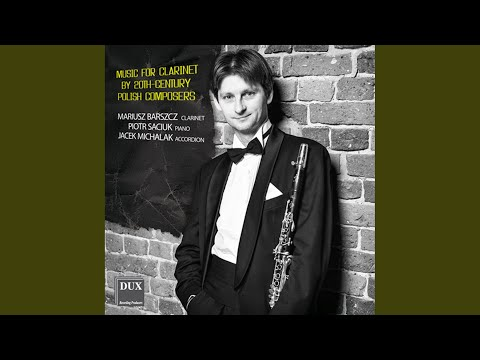 3 Miniatures For Clarinet & Piano: No. 1. Allegro