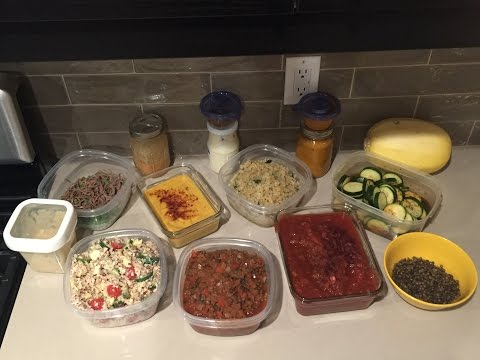 7 meals in 48 minutes! 4/27 meal plan