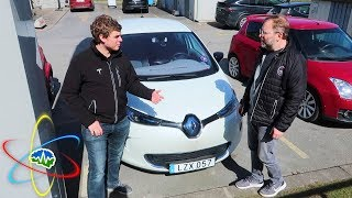 Jesse Drives The Renault Zoe EV!