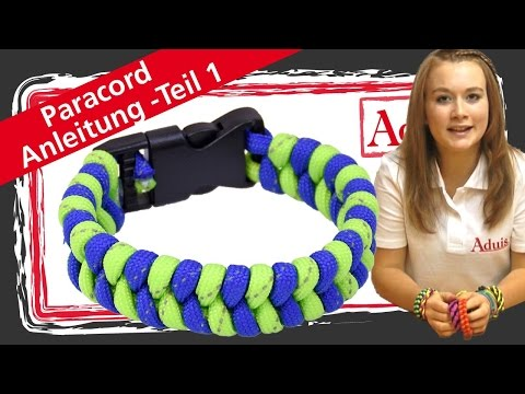 Paracord Armband – Anleitung Teil 1