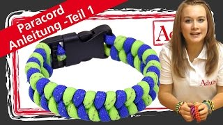 Paracord Armband - Teil 1