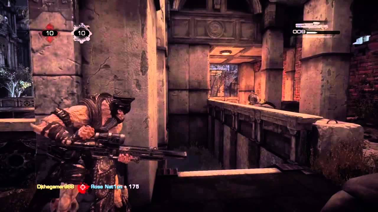 gears of war crossover montage youtube