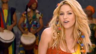Shakira feat. Freshlyground - Waka Waka (This Time for Africa) Official Music Video HD with Lyrics
