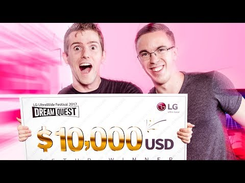 Download Youtube: Gaming PC Build-Off, $10,000 Prize!! - LG Ultrawide Festival 2017