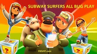SUBWAY SURFERS GAMEPLAY PC HD ✔ JAKE BUG Play 8 ALL And Mystery Boxes Opening   FRIV4T