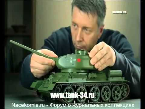 Tank T-72 | Issue 64 (DeAgostini) - YouTube